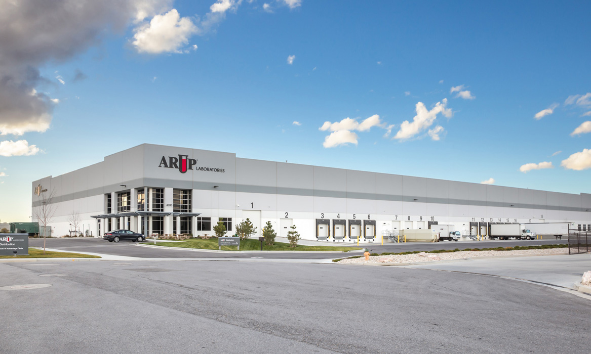 Arup Warehouse industrial property manager