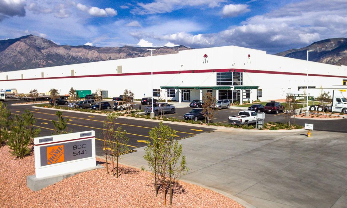 BDO 570 Home Depot Ogden Industrial Building