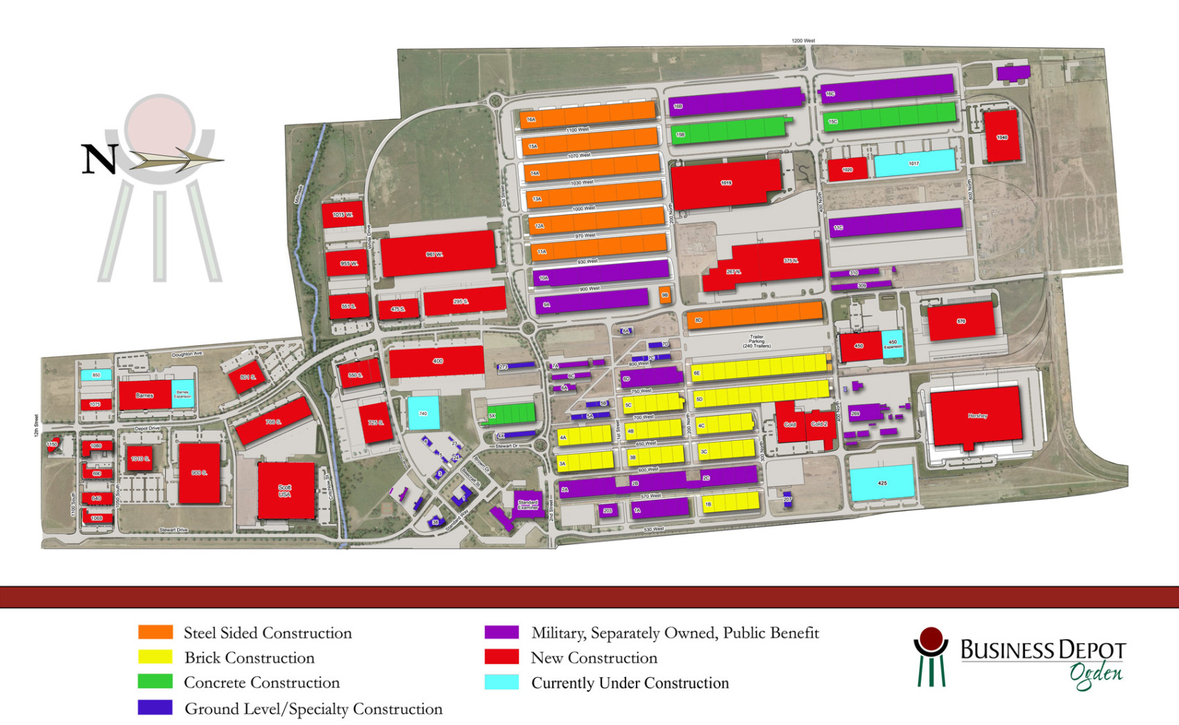 BDO Masterplan MAP OGDEN